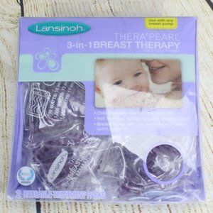 LANSINOH TheraPearl 3-in-1 Hot Cold Breast Therapy